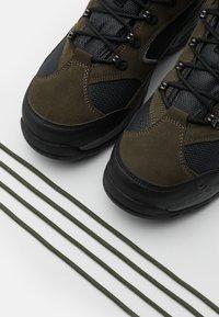 Hi-Tec - STORM WP - Zapatillas de senderismo - olive night/black/charcoal - 5