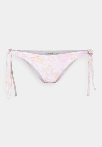 MELODY TIE SIDE HI CUT PANT - Bikiniunderdel - rose