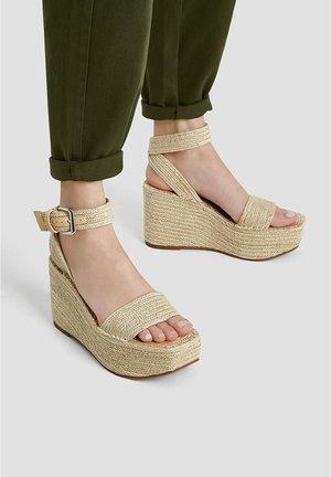 MIT SCHNALLE  - Sandály na vysokém podpatku - sand