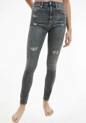 THE BASICS - Jeans Skinny Fit - denim grey
