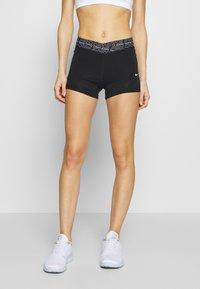 Nike Performance - SHORT - Tights - black/white - 0