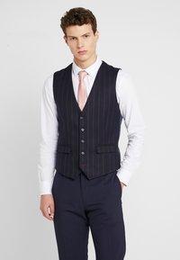 1904 - SCOTT  - Suit waistcoat - navy - 0
