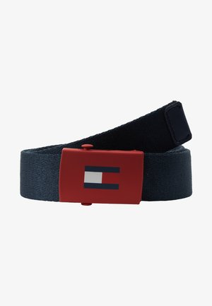 KIDS PLAQUE BELT  - Pasek - blue