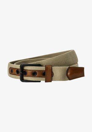 Braided belt - wood