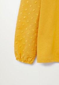Mango - PLUMETI - Long sleeved top - hořčice - 2