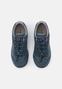 Lowa - ZIRROX GTX JUNIOR UNISEX - Hiking shoes - stahlblau/rosé - 3