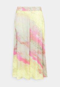 Esqualo - SKIRT BLURRED PRINT - Maxi skirt - multi-coloured - 0