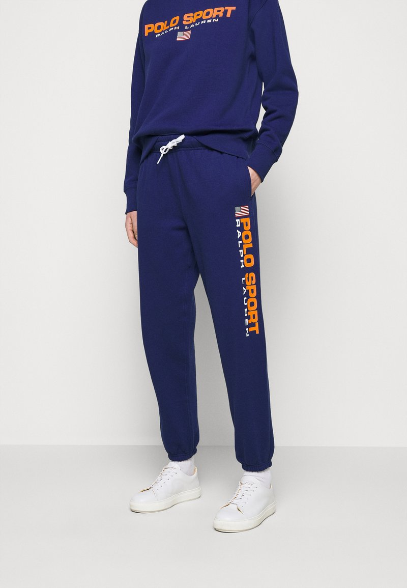 Polo Ralph Lauren - ANKLE PANT - Tracksuit bottoms - fall royal