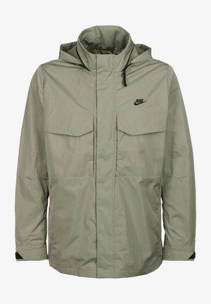 Light jacket - light army black black