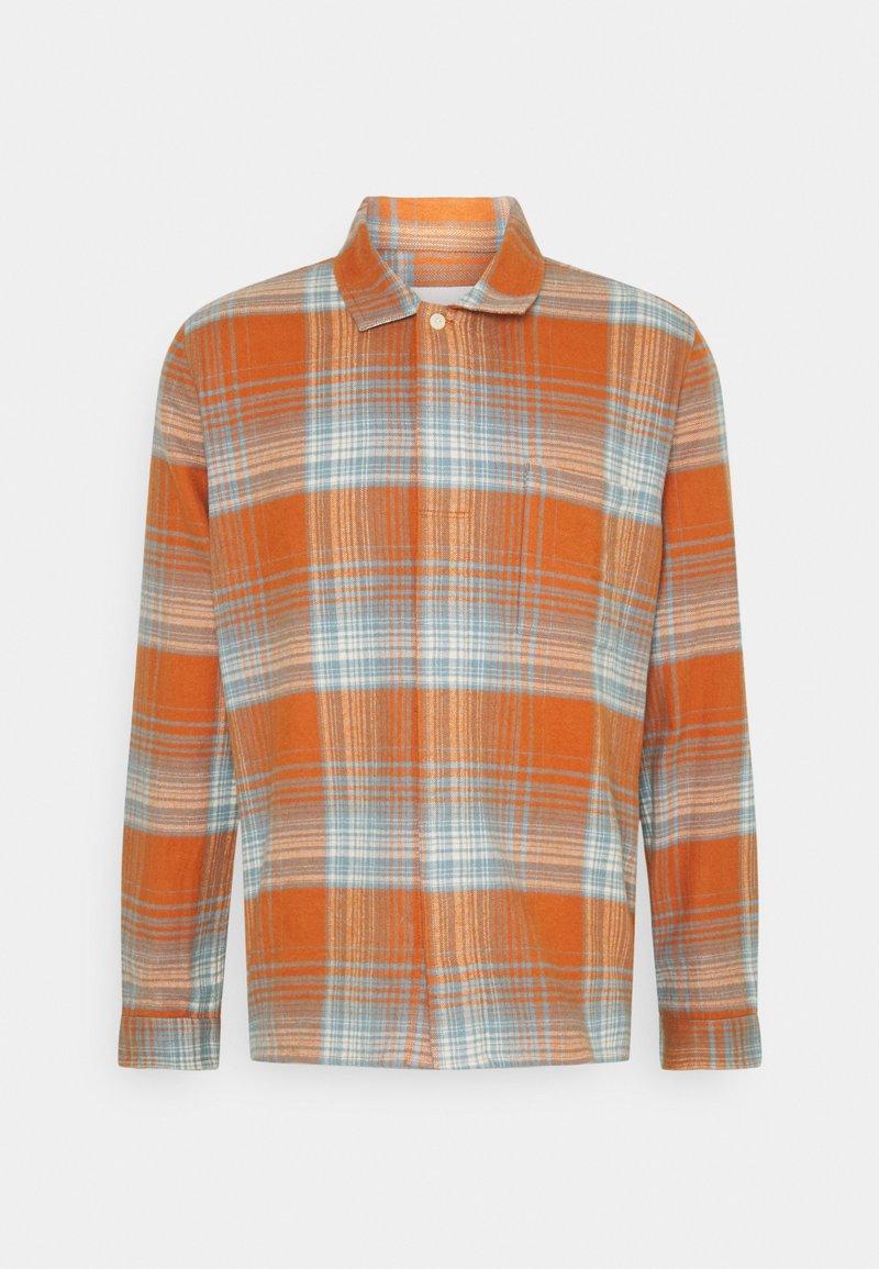 Folk - PATCH - Shirt - blue amber
