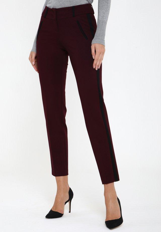 Pantalon classique - pflaume