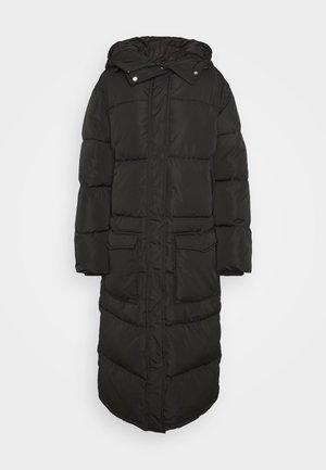 SNOWDY - Vinterkåpe / -frakk - black