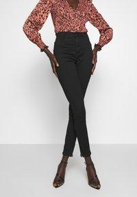 Vero Moda Tall - VMSOPHIA ANKLE ZIP - Jeans Skinny Fit - black - 3