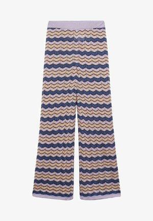 Pantalon classique - lila