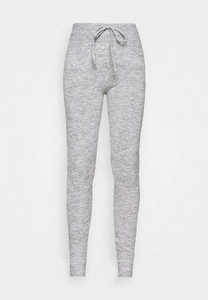 SANDRA TROUSERS - Trainingsbroek - grey melange