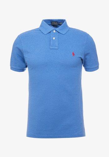 SLIM FIT - Polo shirt - dockside blue