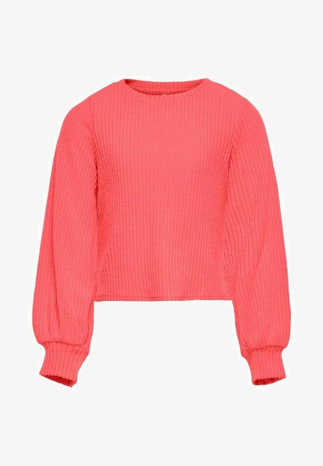 Pullover - sugar coral