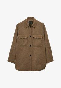 Massimo Dutti - Short coat - brown - 2