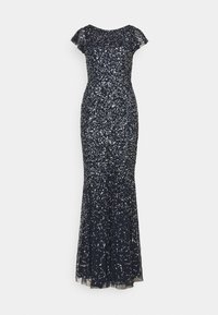 Maya Deluxe - ALL OVER SEQUIN WITH FLUTTER SLEEVE - Iltapuku - navy - 5