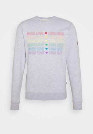 UNISEX PRIDE VELEZ - Sweatshirt - grey melange