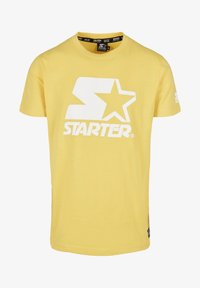 Starter - Print T-shirt - buff yellow - 5