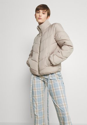Winter jacket - simply taupe