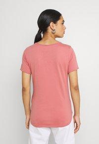 G-Star - MYSID OPTION SLIM - Print T-shirt - dusty rose - 2
