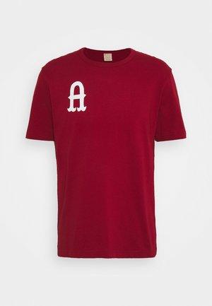 CREWNECK AMSTERDAM - Print T-shirt - red