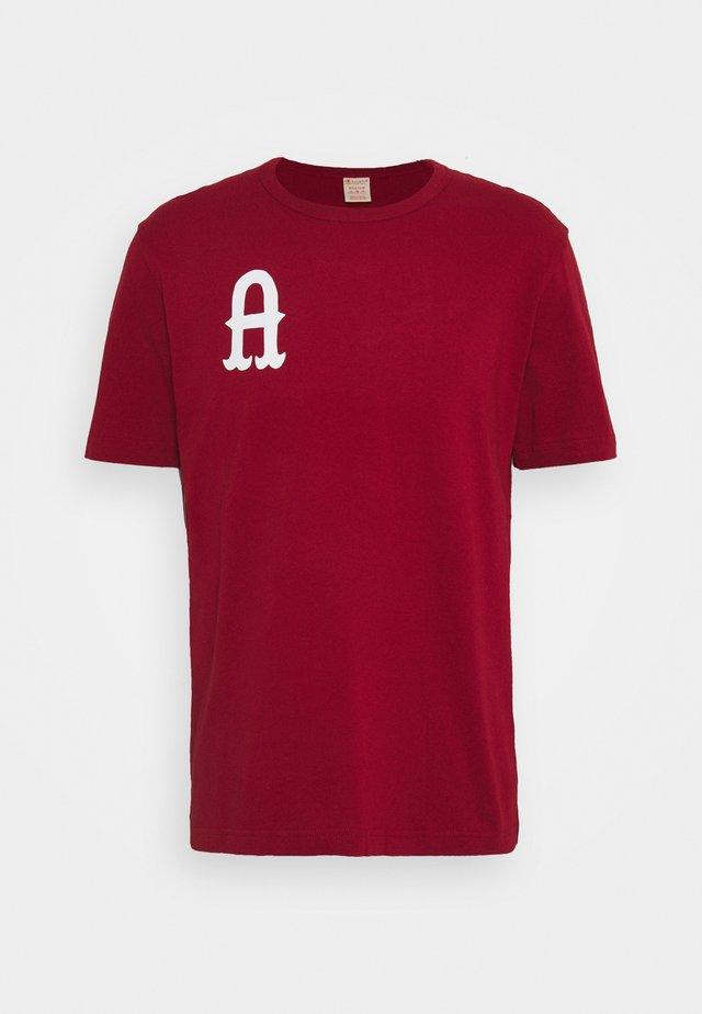 CREWNECK AMSTERDAM - T-shirt imprimé - red
