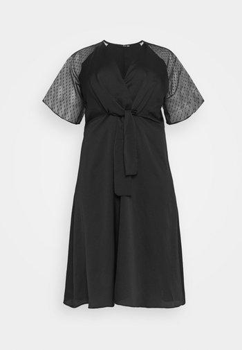 SACHITA DRESS - Sukienka koktajlowa - black