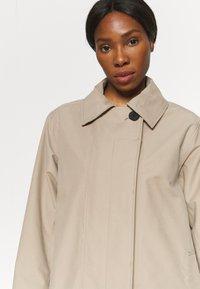 Didriksons - EMBLA COAT - Hardshell jacket - beige - 5