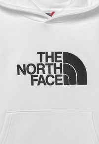 The North Face - DREW PEAK HOODIE UNISEX - Sweat à capuche - white/black - 2