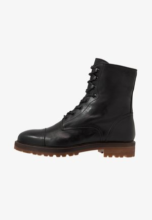 Lace-up ankle boots - ohio nero