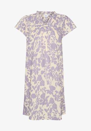 Freizeitkleid - lavender big florals