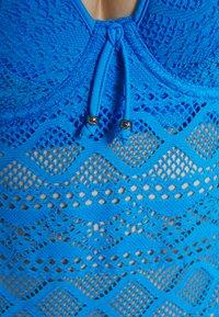 Freya - SUNDANCE PADDED TANKINI - Bikini top - blue moon - 6
