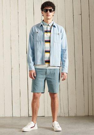 Polo - broad stripe blue
