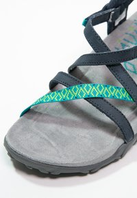 Merrell - TERRAN LATTICE II - Walking sandals - navy - 5