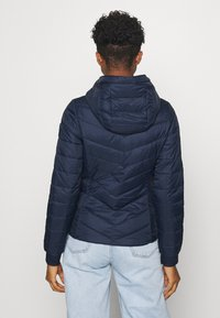 Hollister Co. - LIGHTWEIGHT PUFFER - Light jacket - navy - 2