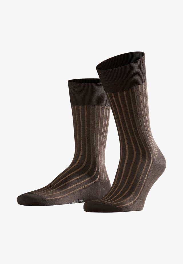 SHADOW - Socks - brown