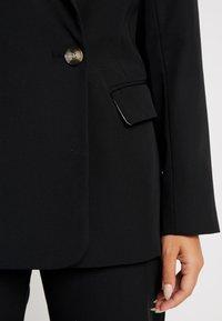 Topshop Petite - NEW SUIT - Blazer - black - 4