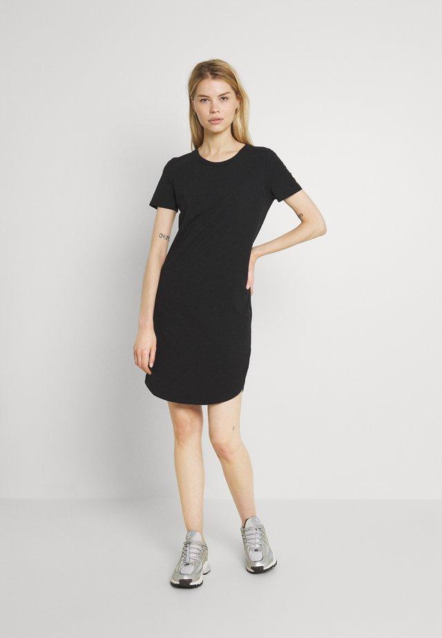 NMSIMMA DRESS - Pouzdrové šaty - black