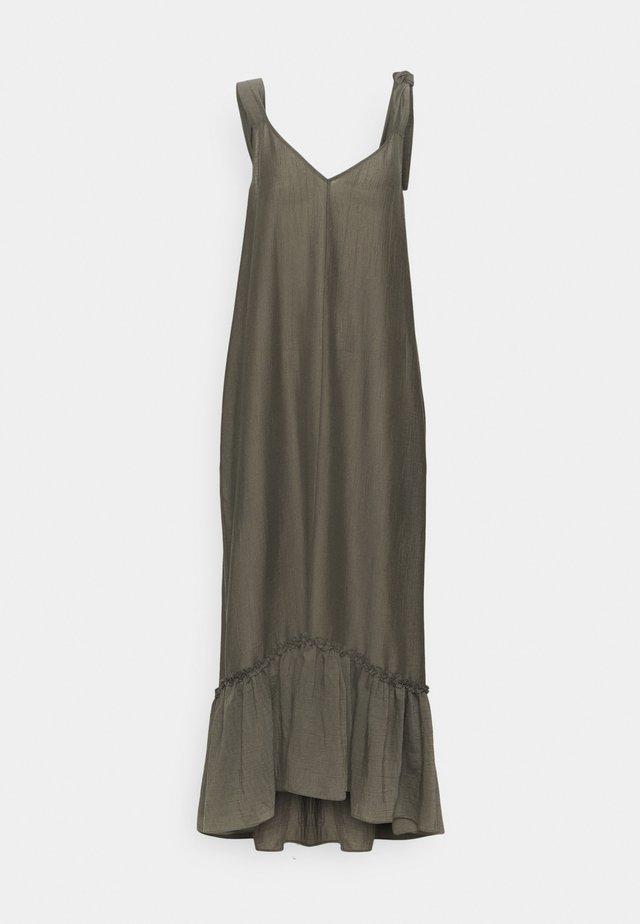 KRISTA DRESS - Sukienka letnia - dark khaki