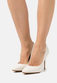 ALDO - DURBELL - Classic heels - white - 0