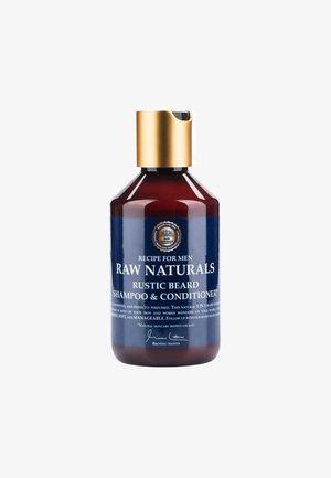 RUSTIC BEARD SHAMPOO & CONDITIONER - Bart-Shampoo - not defined, blue