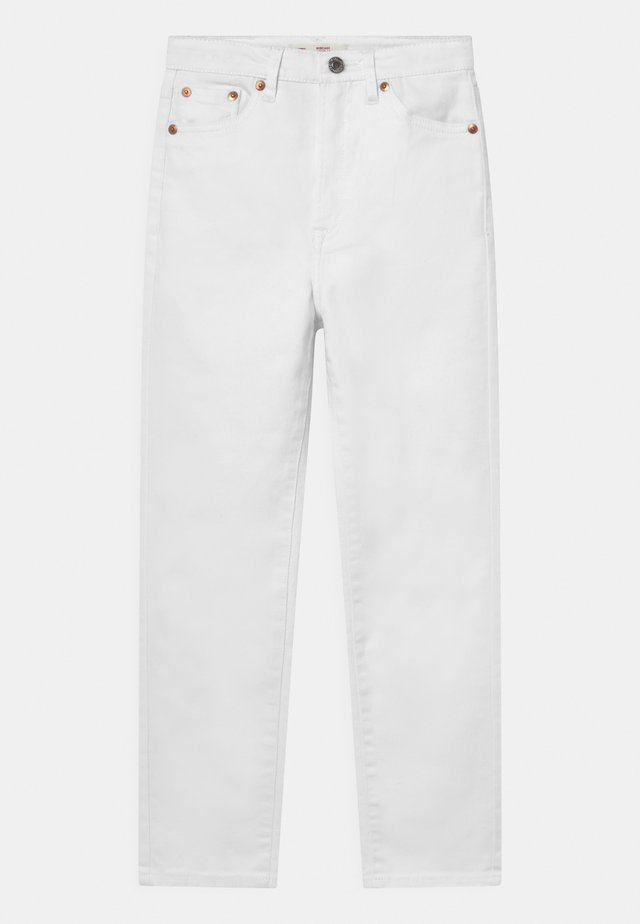 RIBCAGE ANKLE STRAIGHT - Jean droit - white