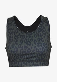 New Look - BRA - Camiseta de deporte - dark khaki - 3