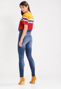G-Star - 3301 HIGH SKINNY   - Jeans Skinny Fit - medium indigo aged - 3