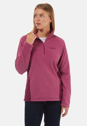 Fleece jumper - baton rouge/blackcurrent