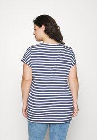 Zizzi - VDORIT  - Basic T-shirt - twilight blue - 2