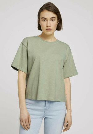 Basic T-shirt - light dusty green